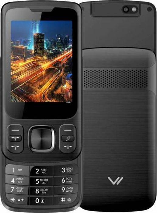 Мобильный телефон Vertex S107, Black мобильный телефон vertex s104 red