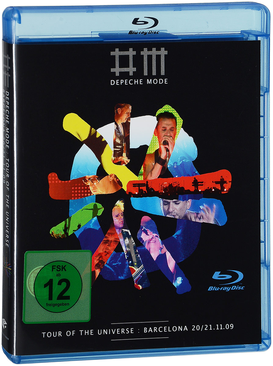 Depeche Mode: Tour Of The Universe - Barcelona 20/21:11:09 (2 Blu-ray) игрушки животные tour the world schleich