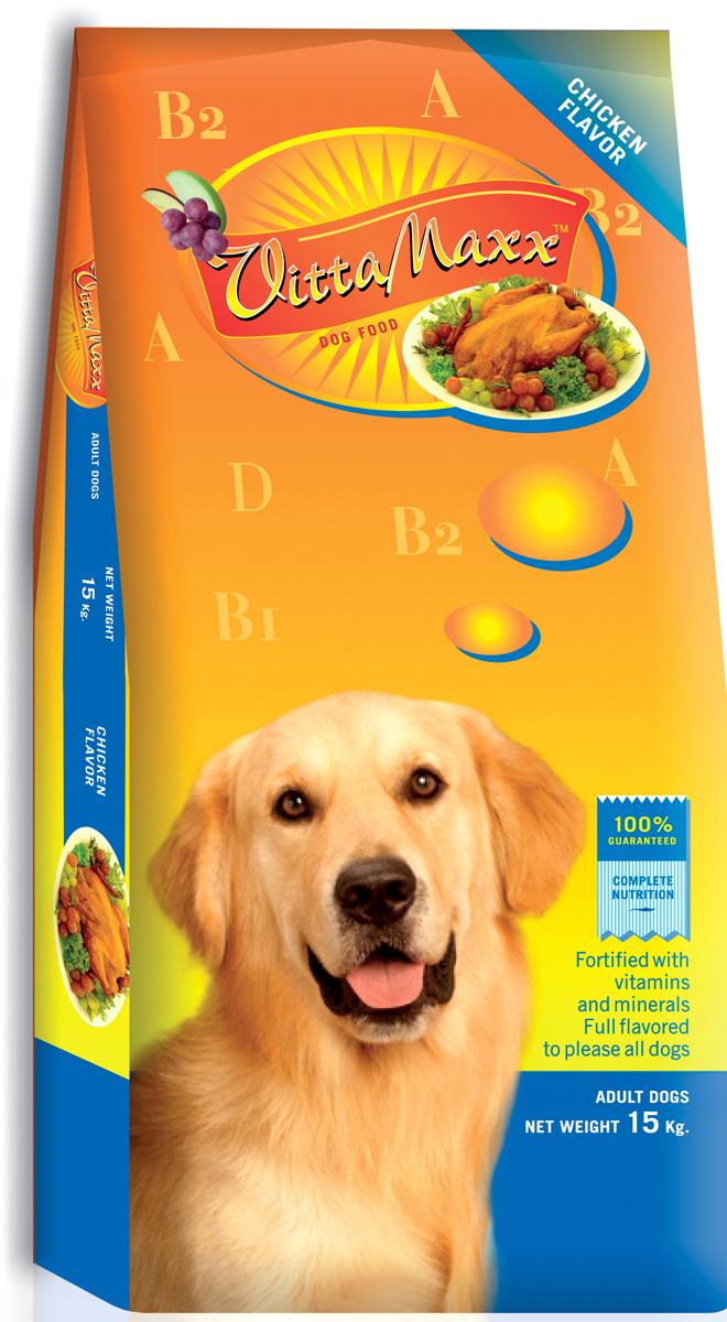 Корм сухой для собак PCG Виттамакс, курица, 15 кг пудовъ мука ржаная обдирная 1 кг