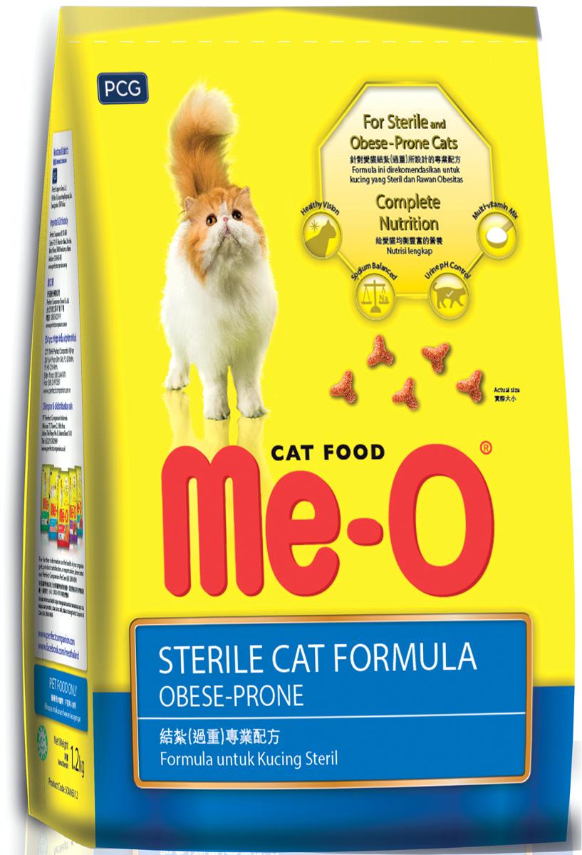 Корм сухой PCG Ме-О для кастрированных кошек и котов , 7 кг. 133133
