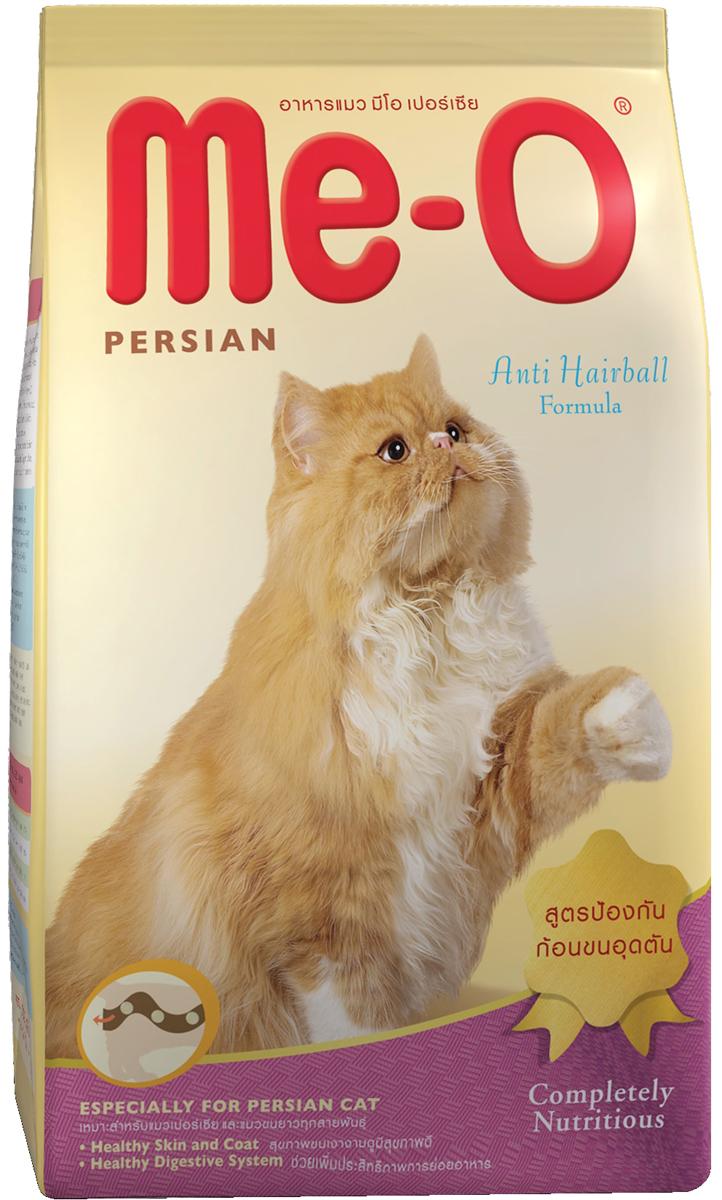 Корм сухой PCG Ме-О, для персидских и других длинношерстных кошек, 200 г, 35 шт паучи для кошек pcg ме о тунец и белая рыба в желе 80 г