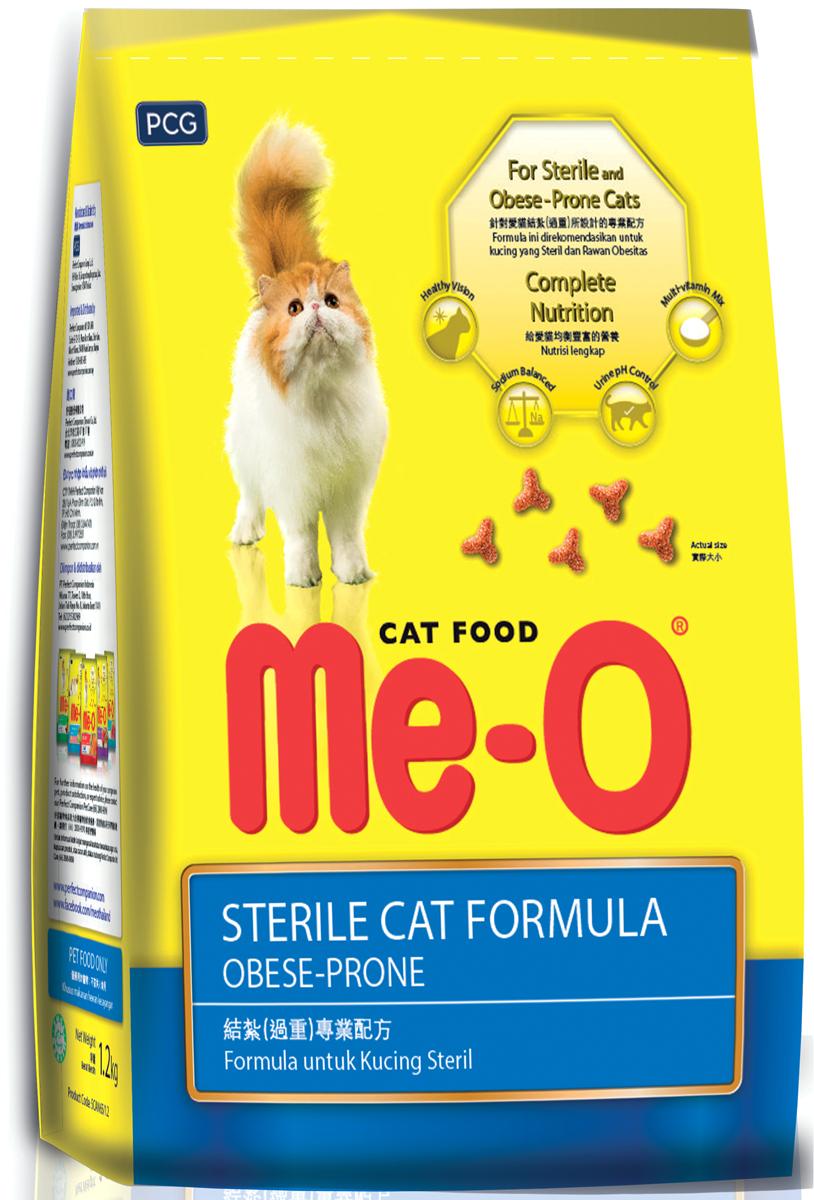 Корм сухой PCG Ме-Одля кастрированных кошек и котов, 200 г, 35 шт паучи для котят pcg ме о тунец в желе 80 г