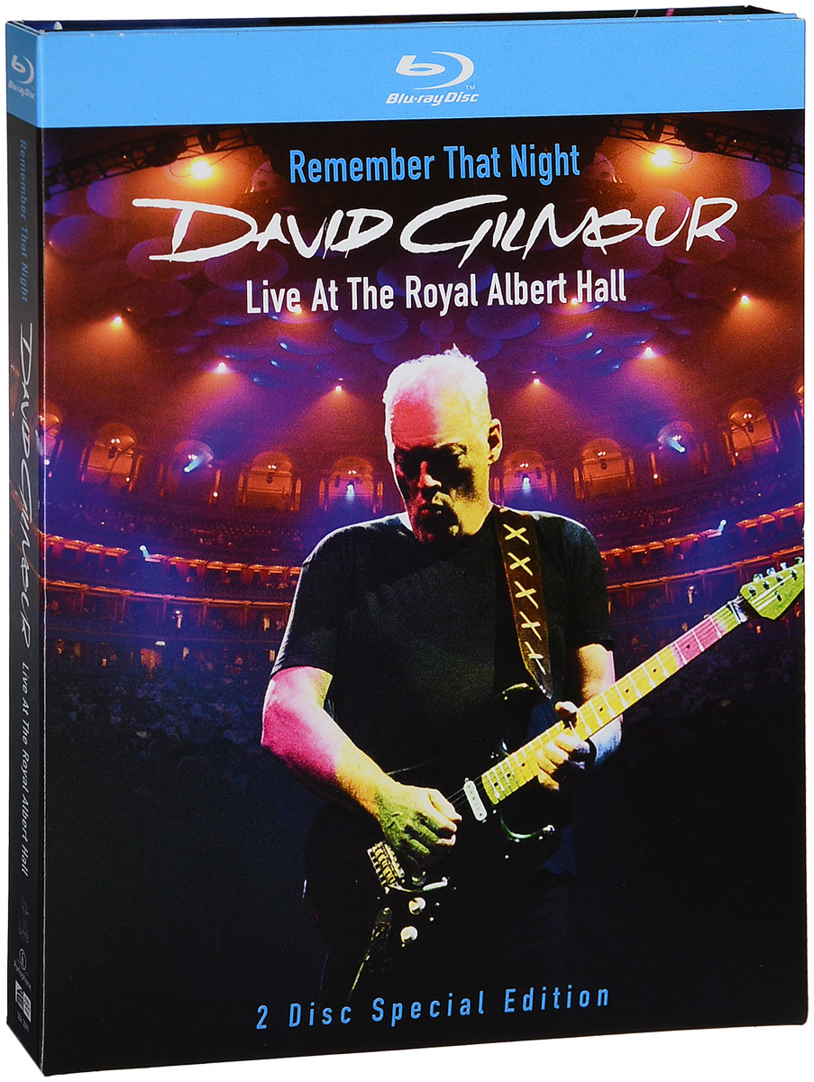 David Gilmour. Remember That Night - Live At The Royal Albert Hall (2 Blu-Ray) переходная рамка intro rop n106 для peugeot 106 1din