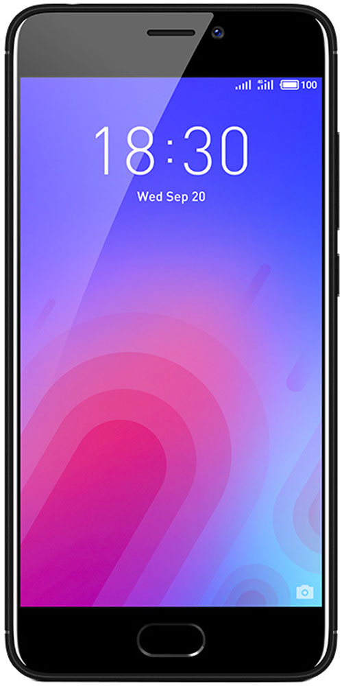 Meizu M6 16GB, Black - Смартфоны