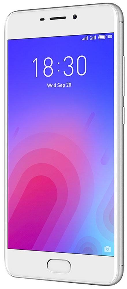 Meizu M6 16GB, Silver - Смартфоны