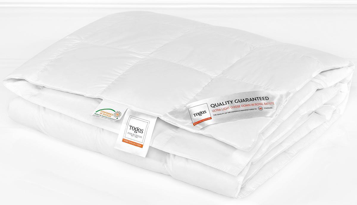 Одеяло детское Togas  Роял , наполнитель: пух, цвет: белый, 100 x 135 см - Детский текстиль