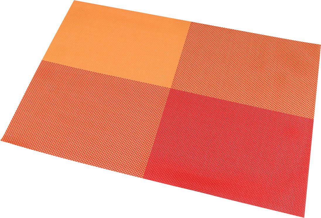 Набор салфеток Elan Gallery Красно-оранжевые, 45 х 30 см, 4 шт170908Салфетки Elan Gallery Красно-оранжевые предназначеныдля сервирования стола и украшение интерьера. Салфетки выполнены из ПВХ. Такие изделия легко моются и удобны в хранении, имеют стильный и красивый дизайн. Изготовлены из современного, высокотехнологичного материала, обладающего рядом уникальных свойств: высокая прочность, эластичность, большая износостойкость, высокая термостойкость и устойчивость к ультрафиолетовым лучам.Меры предосторожности: температурный режим использования до 90°С. Не подвергать прямому воздействию огня!