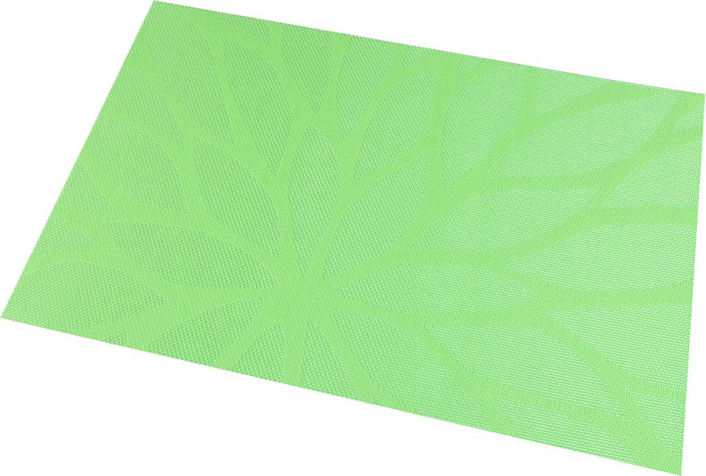 Набор салфеток Elan Gallery Листья на зеленом, 45 х 30 см, 4 шт170912Салфетки Elan Gallery Листья на зеленом предназначены для сервирования стола и украшение интерьера. Салфетки выполнены из ПВХ. Такие изделия легко моются и удобны в хранении, имеют стильный и красивый дизайн. Изготовлены из современного, высокотехнологичного материала, обладающего рядом уникальных свойств: высокая прочность, эластичность, большая износостойкость, высокая термостойкость и устойчивость к ультрафиолетовым лучам.Меры предосторожности: температурный режим использования до 90°С. Не подвергать прямому воздействию огня!