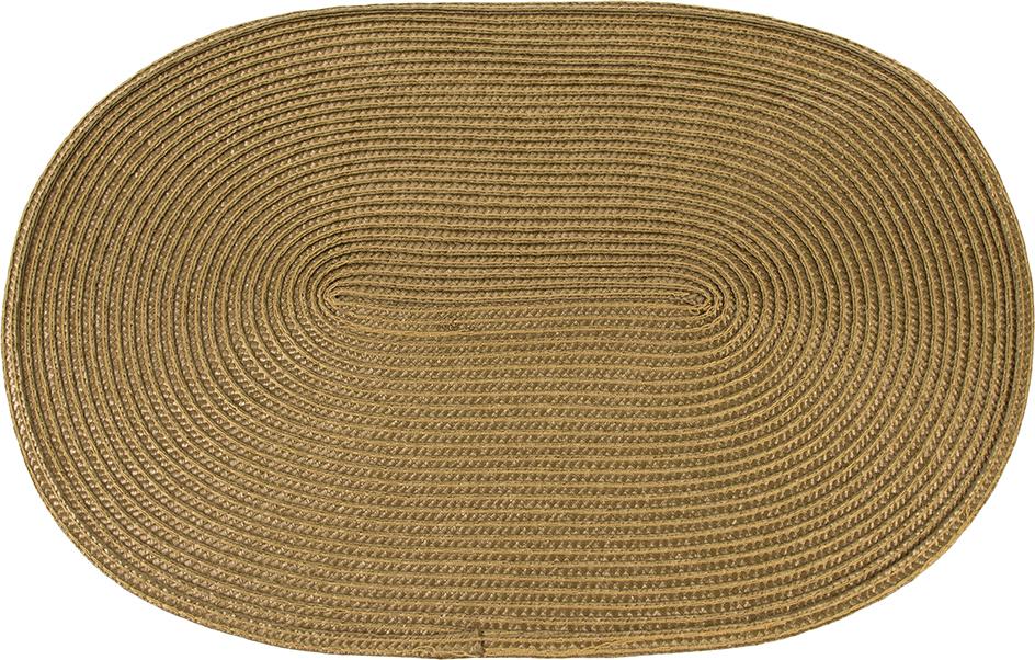 Набор салфеток Elan Gallery Золотые косы, 45 х 30 см, 4 шт171621Набор из четырех салфеток прекрасно подойдет для чайной церемонии. Защищает поверхность стола от влаги и высоких температур. Они не впитывают влагу и легко моются. Набор салфеток предназначен для сервировки стола и украшения интерьера кухни, столовой или гостиной. Для ухода за салфетками можно использовать любые моющие средства.Практичность и высокая износостойкость делают салфетки удобным и полезным аксессуаром для дома.Салфетка станет прекрасным завершающим элементом в сервировке стола. С ней любой ужин будет как праздничный.