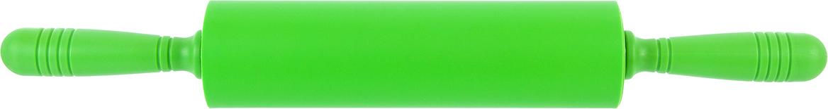 Скалка Elan Gallery, цвет: зеленый, 47 х 6,5 х 6,5 см590079Превосходно подходит для раскатки очень тонкого теста для коржа или пиццы и, при этом, тесто не надо посыпать мукой или смазывать маслом.К силиконовой скалке тесто не прилипнет, а эргономичные пластиковые ручки обеспечат максимальный комфорт при ее использовании. Она очень легка в уходе, просто сполосните скалку теплой водой и просушите. Можно мыть в посудомоечной машине.