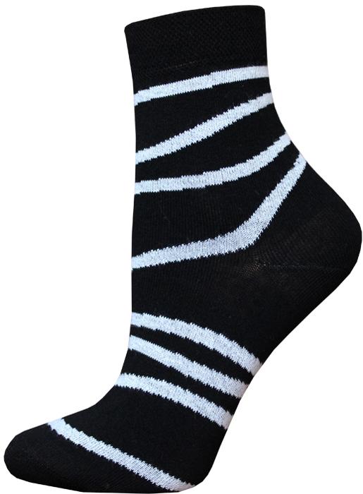 Носки женские Брестские Classic, цвет: черный. 14С1100_062. Размер 36/37 носки женские брестские classic цвет бледно голубой 14с1101 018 размер 36 37
