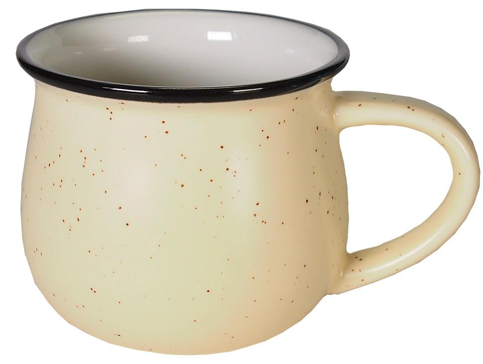 Кружка Карамба Горшок, цвет: бежевый, 250 мл. 004921004921Стильная небольшая кружка Карамба Горшок изготовлена из керамики и имеет необычную форму. Кружка Горшок станет не только приятным, но ипрактичным сувениром.