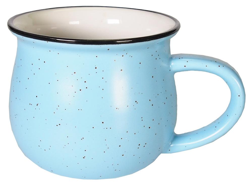 Кружка Карамба Горшок, цвет: голубой, 250 мл. 004922004922Небольшая кружка в виде горшка нежных пастельных тонов объемом 250 мл.