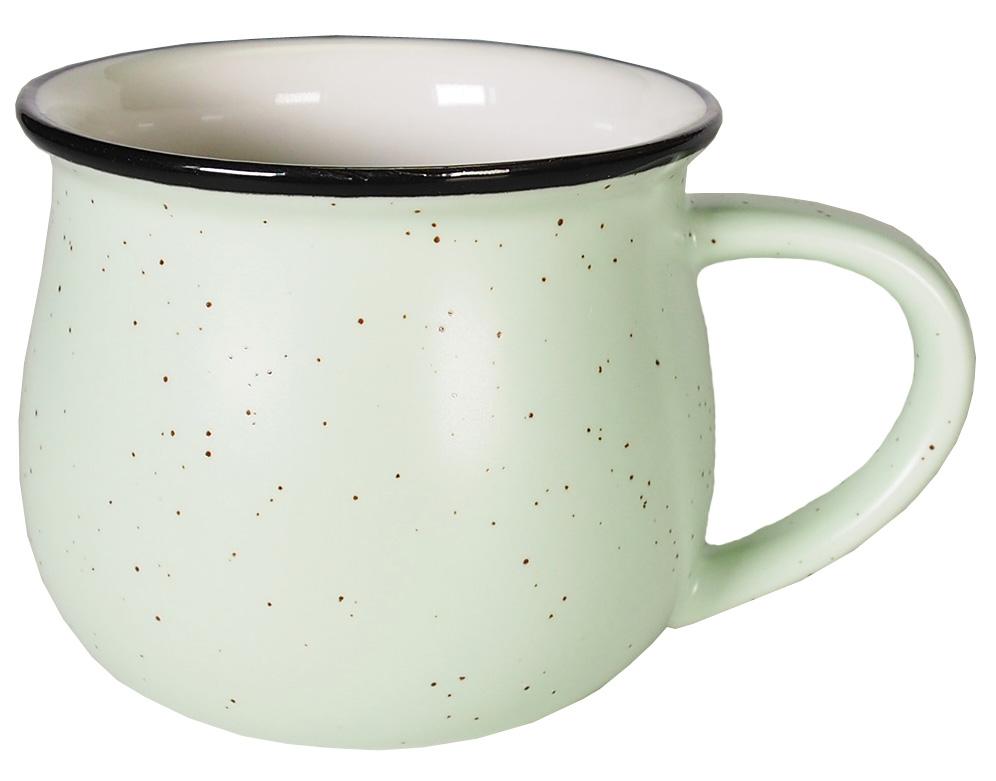 Кружка Карамба Горшок, цвет: светло-зеленый, 250 мл. 004924004924Стильная небольшая кружка Карамба Горшок изготовлена из керамики и имеет необычную форму. Кружка Горшок станет не только приятным, но ипрактичным сувениром.