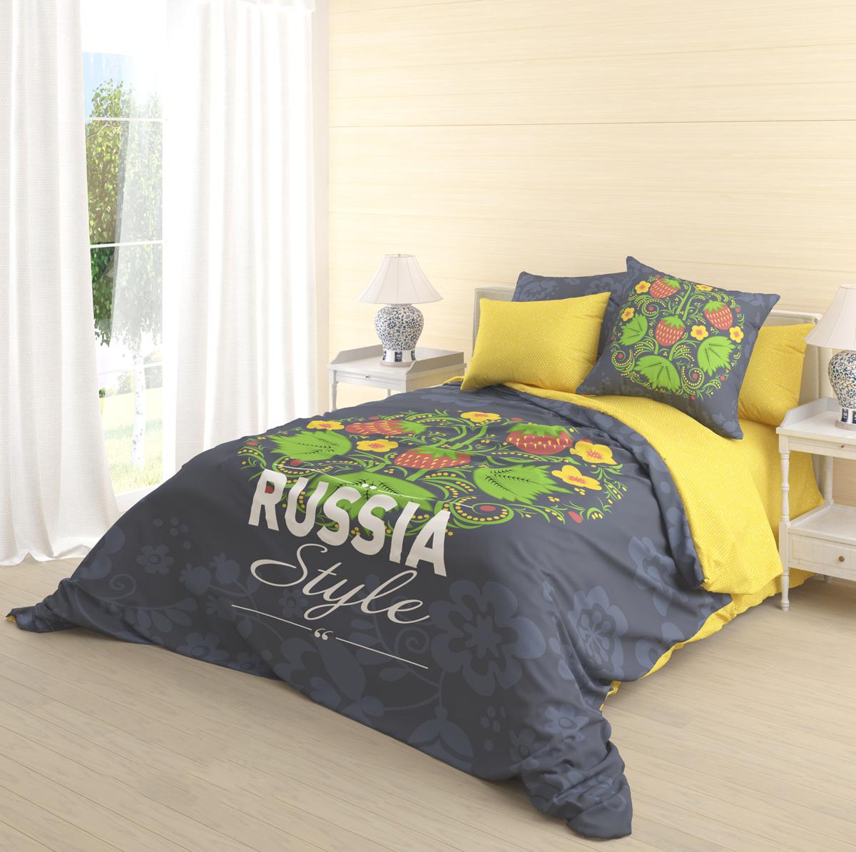 Комплект белья Волшебная ночь Ivan-Da-Maria, евро, наволочки 70х70 см718553