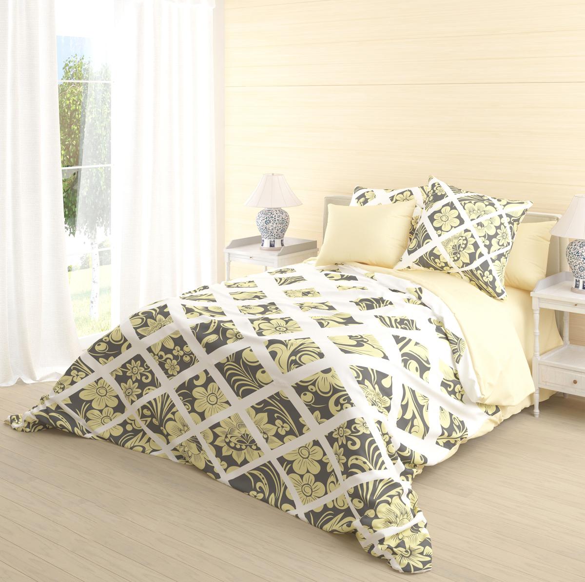 """Роскошный комплект постельного белья Волшебная ночь """"Sadko"""" выполнен из натурального ранфорса (100% хлопка) и оформлен оригинальным рисунком. Комплект состоит из пододеяльника, простыни и двух наволочек. Ранфорс - это новая современная гипоаллергенная ткань из натуральных хлопковых волокон, которая прекрасно впитывает влагу, очень проста в уходе, а за счет высокой прочности способна выдерживать большое количество стирок. Высочайшее качество материала гарантирует безопасность."""