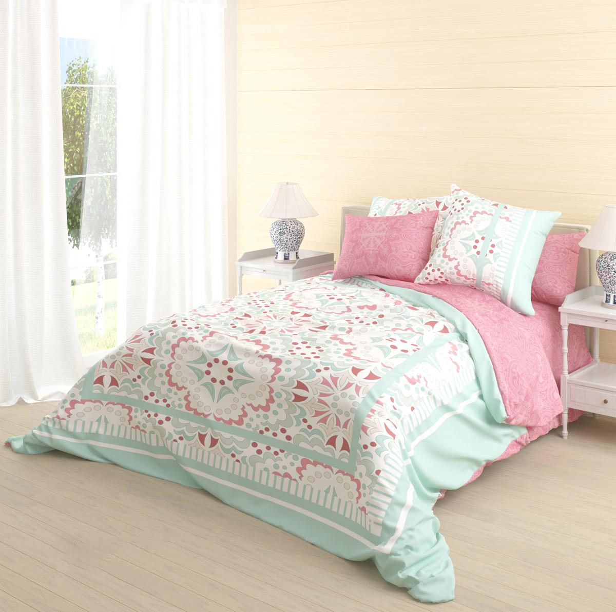Комплект белья Волшебная ночь Terem, 2-спальный, наволочки 50х70 см718586Роскошный комплект постельного белья Волшебная ночь Terem выполнен из натурального ранфорса (100% хлопка) и оформлен оригинальным рисунком. Комплект состоит из пододеяльника, простыни и двух наволочек.Ранфорс - это новая современная гипоаллергенная ткань из натуральных хлопковых волокон, которая прекрасно впитывает влагу, очень проста в уходе, а за счет высокой прочности способна выдерживать большое количество стирок. Высочайшее качество материала гарантирует безопасность.