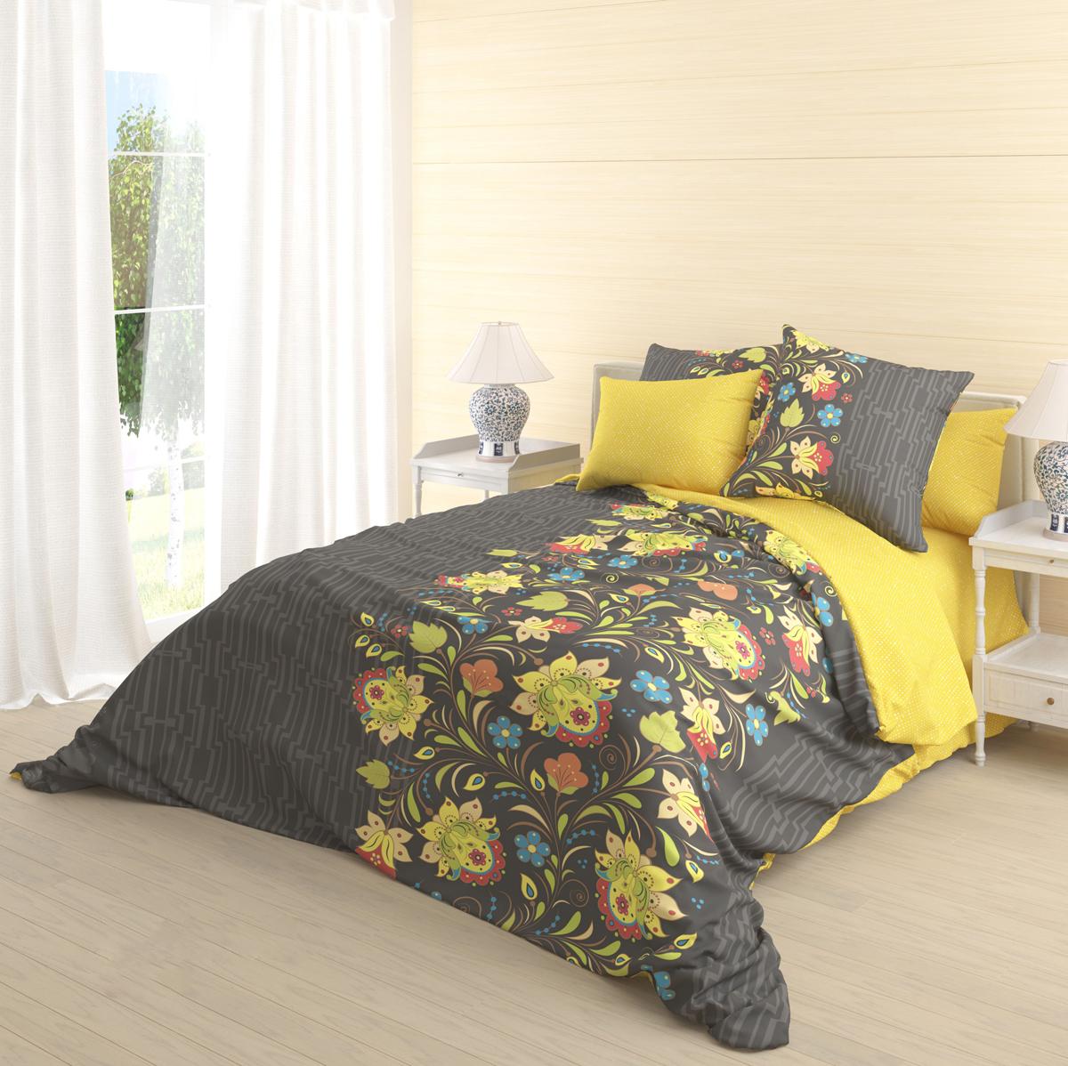 Комплект белья Волшебная ночь Veles, 2-спальный, наволочки 50х70 см718603Роскошный комплект постельного белья Волшебная ночь Veles выполнен из натурального ранфорса (100% хлопка) и оформлен оригинальным рисунком. Комплект состоит из пододеяльника, простыни и двух наволочек.Ранфорс - это новая современная гипоаллергенная ткань из натуральных хлопковых волокон, которая прекрасно впитывает влагу, очень проста в уходе, а за счет высокой прочности способна выдерживать большое количество стирок. Высочайшее качество материала гарантирует безопасность.
