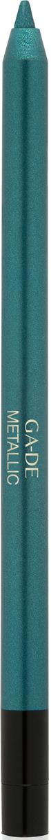 Ga-de Карандаш для глаз Metallic №105, 0,63 г106800105Плотное покрытие с металлизированным сиянием. Формула на основе комплекса восков обеспечивает комфортное нанесение, без риска травмирования кожи век. В состав входит увлажняющий кожу экстракт орхидеи и смягчающий комплекс растительных ингредиентов.