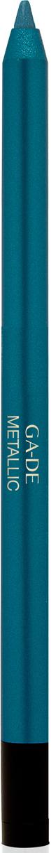 Ga-de Карандаш для глаз Metallic №106, 0,63 г106800106Плотное покрытие с металлизированным сиянием. Формула на основе комплекса восков обеспечивает комфортное нанесение, без риска травмирования кожи век.В состав входит увлажняющий кожу экстракт орхидеи и смягчающий комплекс растительных ингредиентов.