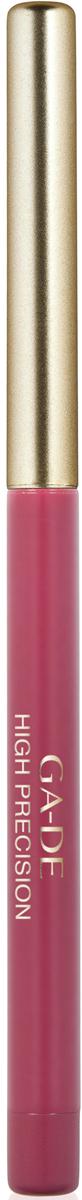 Ga-de Карандаш для губ High Precision №36, 0,63 г123300036Плотная восковая текстура. Перламутровые и матовые оттенки. Водоустойчив. На протяжении целого дня он превосходно сохраняет линию и цвет.