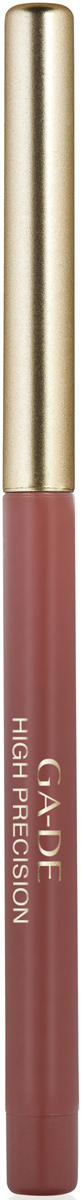 Ga-de Карандаш для губ High Precision №38, 0,63 г123300038Плотная восковая текстура. Перламутровые и матовые оттенки. Водоустойчив. На протяжении целого дня он превосходно сохраняет линию и цвет.