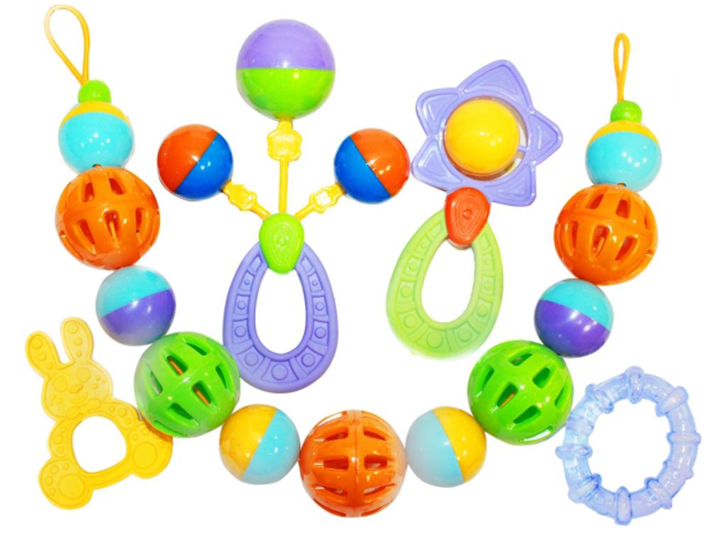Пластмастер Набор погремушек для малышей игрушки для детей