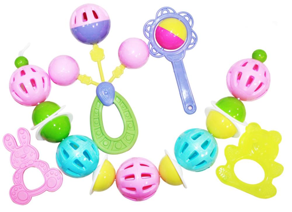 Пластмастер Набор погремушек для девочек игрушки для детей