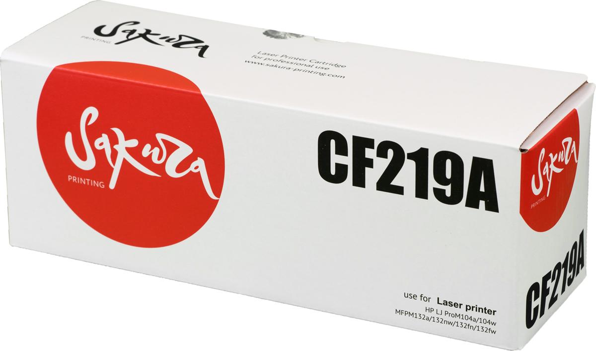 Sakura CF219A фотобарабан для HP LJ Pro m104a/m104w/m132a/m132fn/m132fw/m132nw