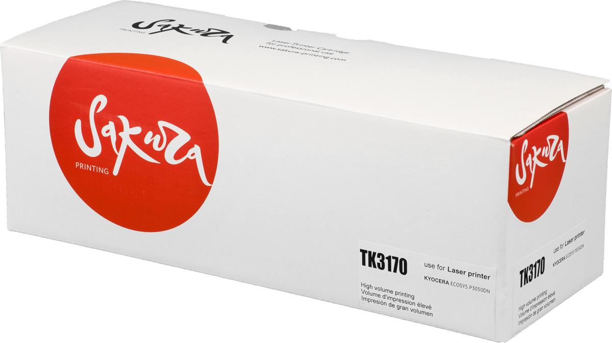 Sakura TK3170, Black тонер-картридж для Kyocera Mita ECOSYS p3045dn/p3050dn/p3055dn/p3060dn материнская плата gigabyte ga h270 hd3 h270 socket 1151 4xddr4 6xsata3 raid 1xm 2 3xpci e16x 4xusb3 1 d sub dvi hdmi glan atx