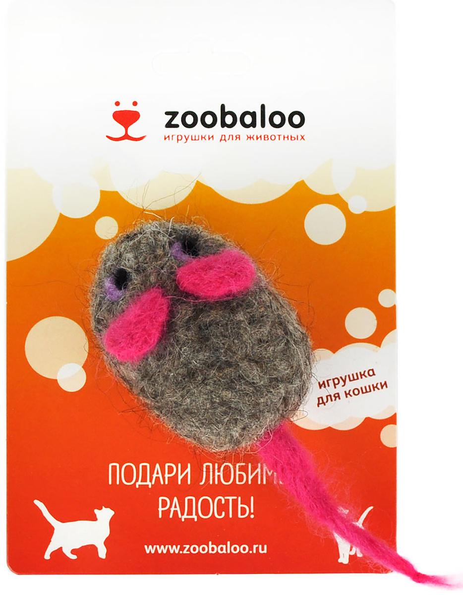 Игрушка для животных Zoobaloo Шерстяная мышь Эмма. 347347100% шерсть мериноса, ручная работа