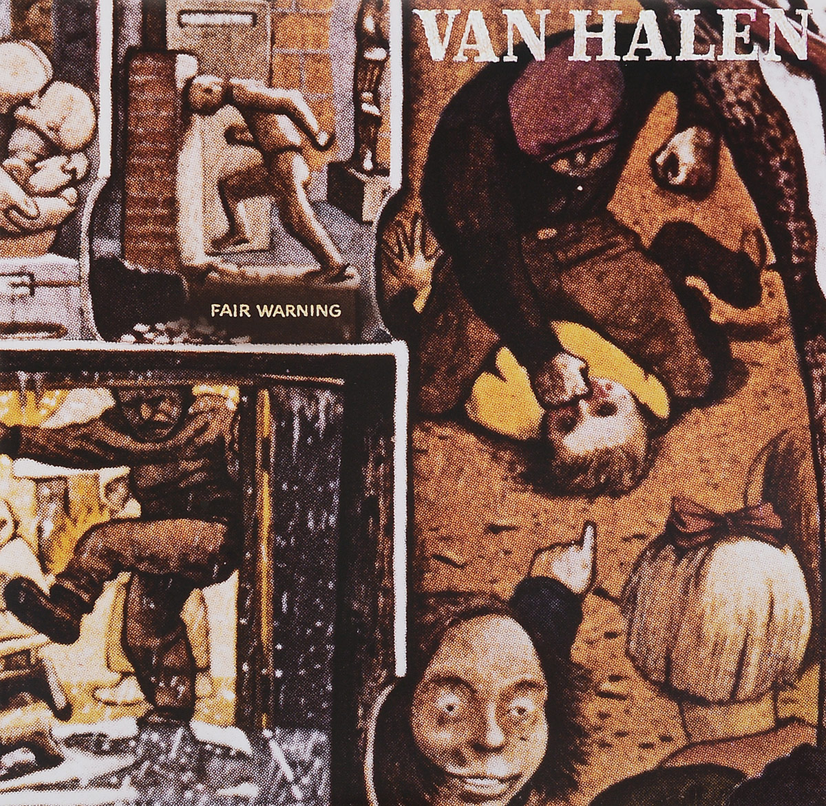 Van Halen Van Halen. Fair Warning (LP) fates warning fates warning theories of flight 2 lp