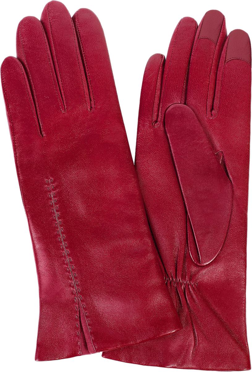 Перчатки женские Michel Katana, цвет: красный. i.K11-ACILY/F.RED. Размер 7,5