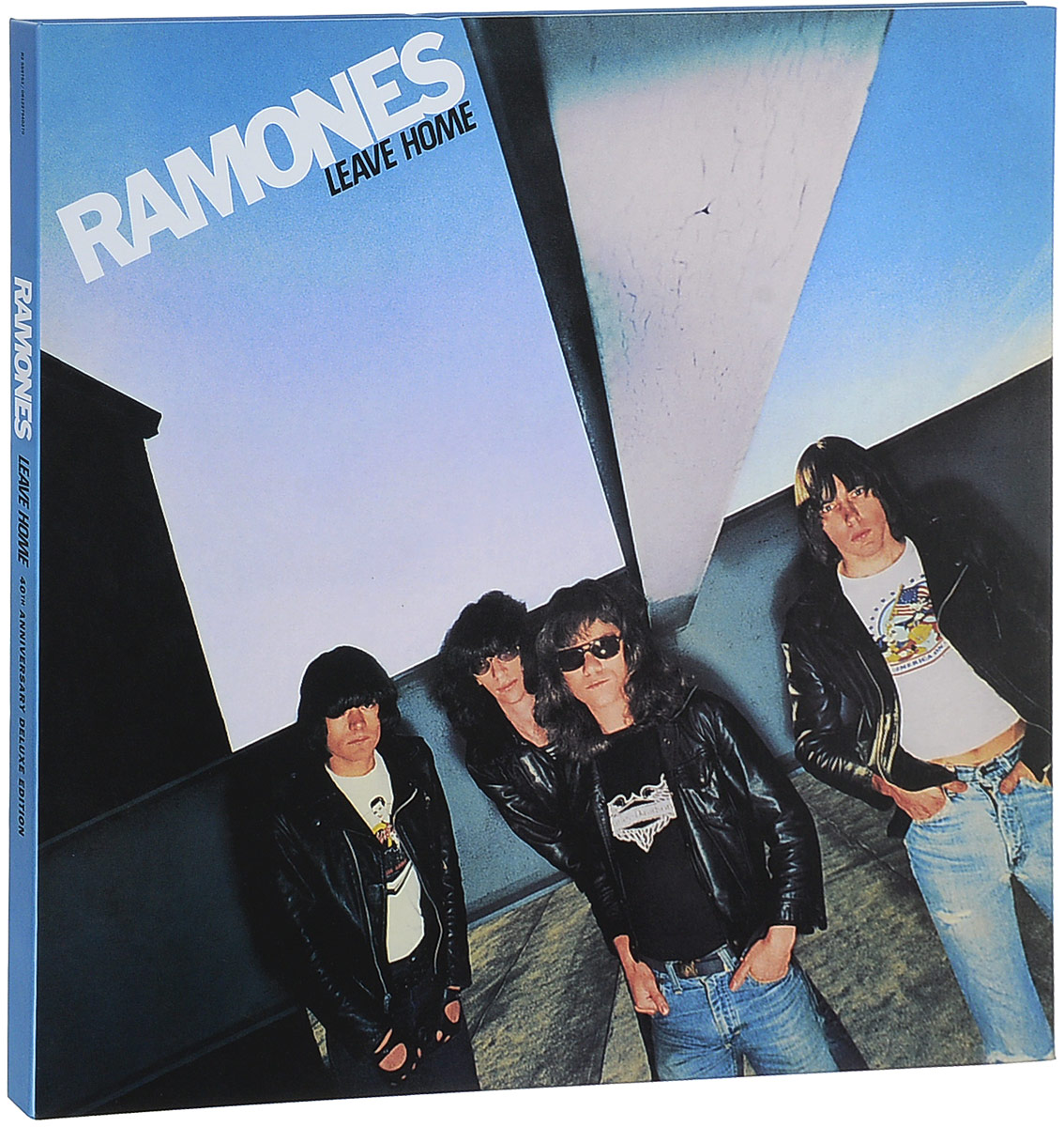 Ramones. Leave Home (40Th Anniversary) (LP + 3 CD) giant size x men 40th anniversary