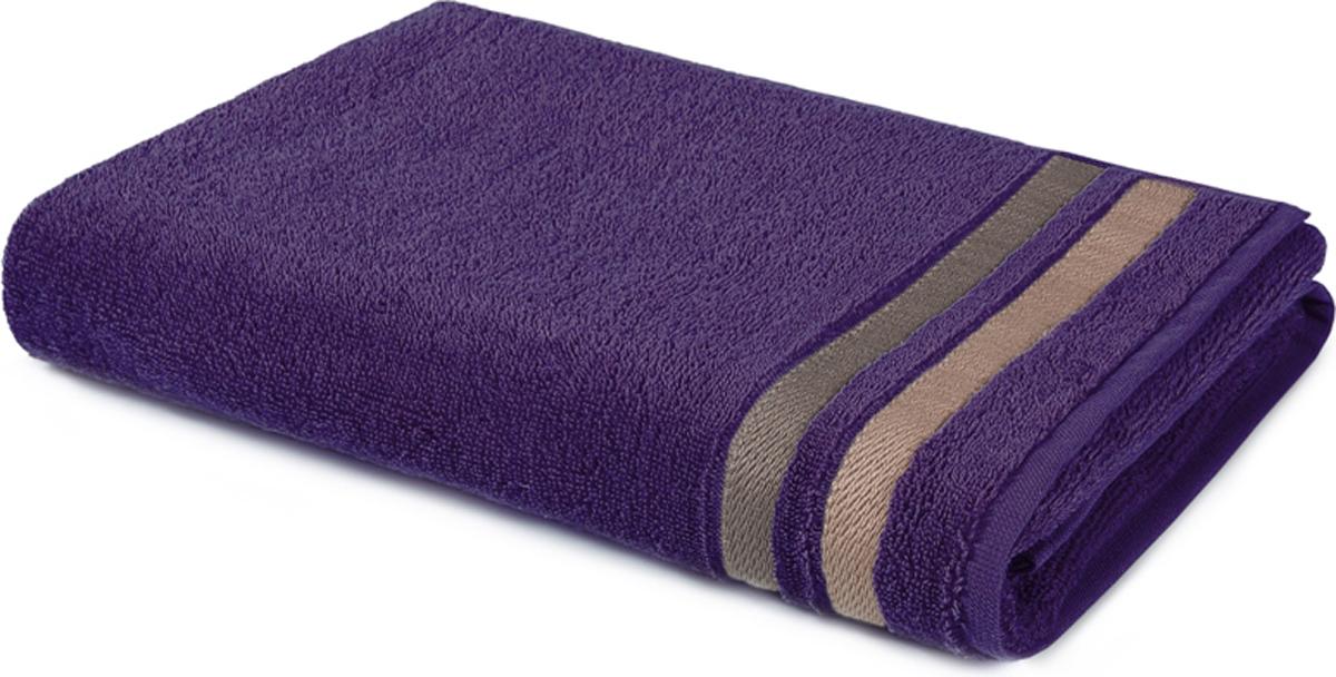 Полотенце махровое Aquarelle Исландия, цвет: баклажан, 50 x 90 см710433Махровое полотенце Aquarelle Исландия неотъемлемая часть повседневного быта, оно создает дополнительные акценты в ванной комнате. Продукция производится из высококачественных материалов.