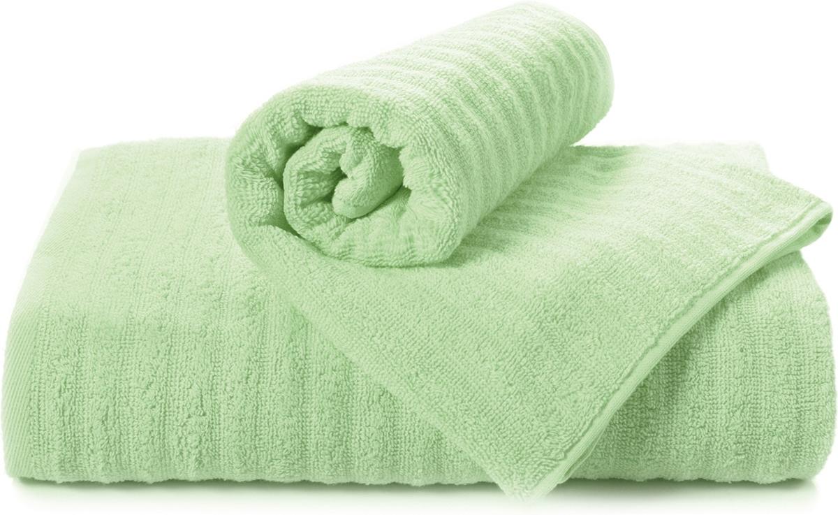 Полотенце махровое Aquarelle Волна, цвет: светло-зеленый, 70 x 140 см711505Махровое полотенце Aquarelle Волна неотъемлемая часть повседневного быта, оно создает дополнительные акценты в ванной комнате. Продукция производится из высококачественных материалов.