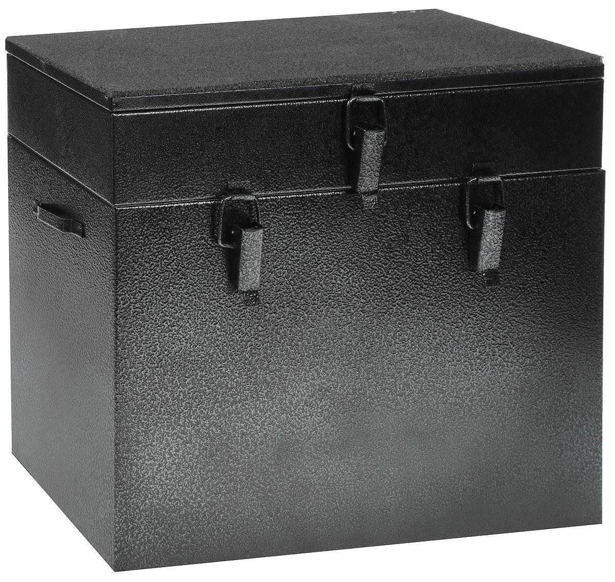 Ящик рыболова Рост, двухъярусный, окрашенный, 40 см х 19 см х 36 см