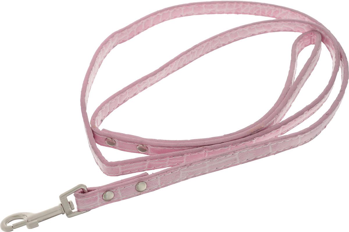 Поводок для собак Camon, цвет: розовый, 1 x 120 см. DC020/BDC020/B_розовыйПоводок для собак Camon, цвет: розовый, 1 x 120 см. DC020/B