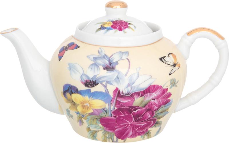 Чайник заварочный Elan Gallery Анютины глазки, с ситом, 700 мл180308Изысканный заварочный чайник украсит сервировку стола к чаепитию. Благодаря красивому утонченному дизайну и качеству исполнения он станет хорошим подарком друзьям и близким.Не рекомендуется применять абразивные моющие средства.