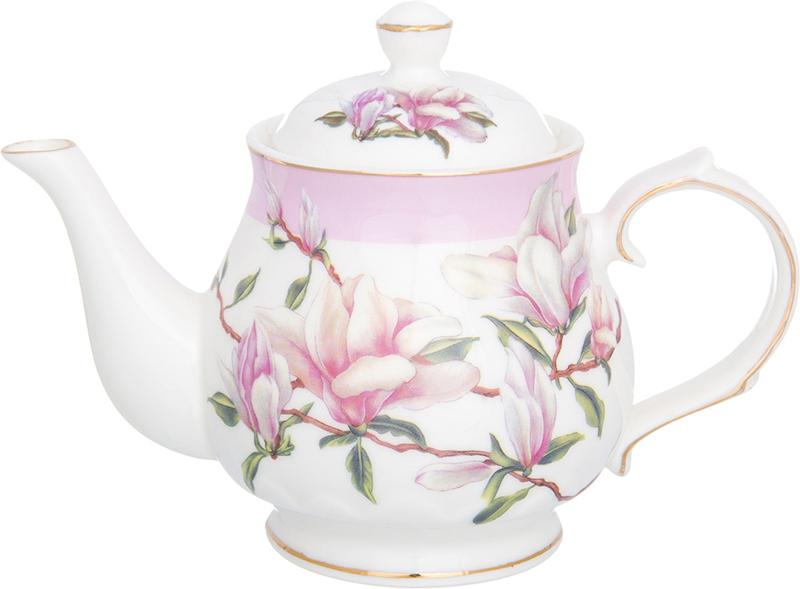 Чайник заварочный Elan Gallery Орхидея на розовом, 430 мл180497Изысканный заварочный чайник украсит сервировку стола к чаепитию. Благодаря красивому утонченному дизайну и качеству исполнения он станет хорошим подарком друзьям и близким.Не рекомендуется применять абразивные моющие средства. Не рекомендуется применять абразивные моющие средства. Не использовать в микроволновой печи.