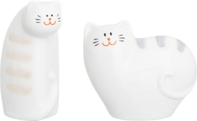 Набор для специй Elan Gallery Сиамские коты, 2 предмета330745Оригинальный набор для специй украсит любой стол и очень удобен в использовании.