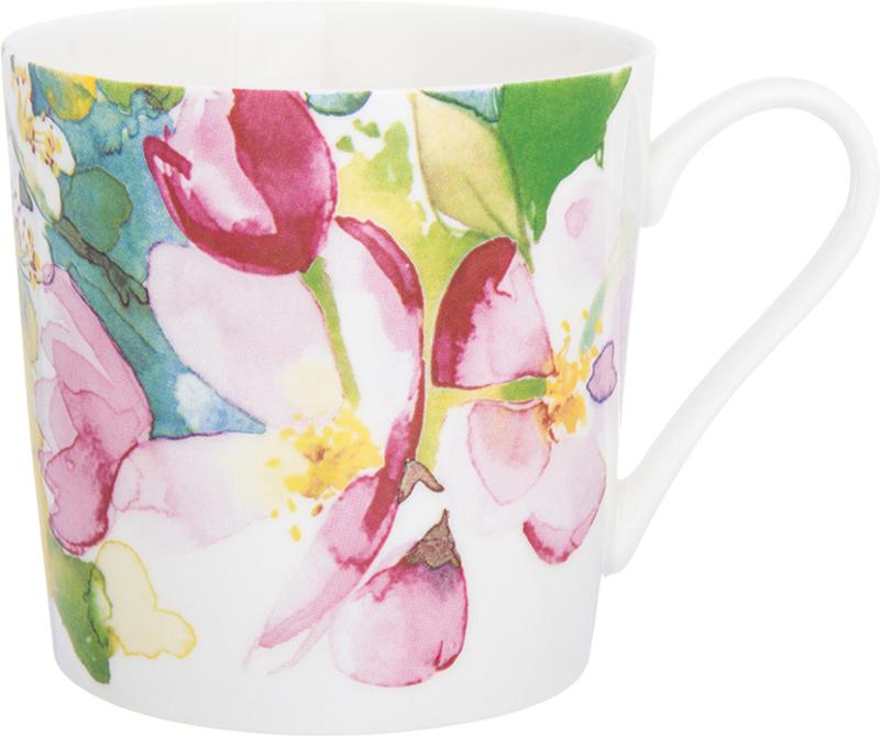 Кружка Elan Gallery Яблоневый цвет, 380 мл730694Кружка Elan Gallery Яблоневый цвет с красочным дизайном подойдет для любых напитков. Легко моется, станет приятным подарком для любой хозяйки.
