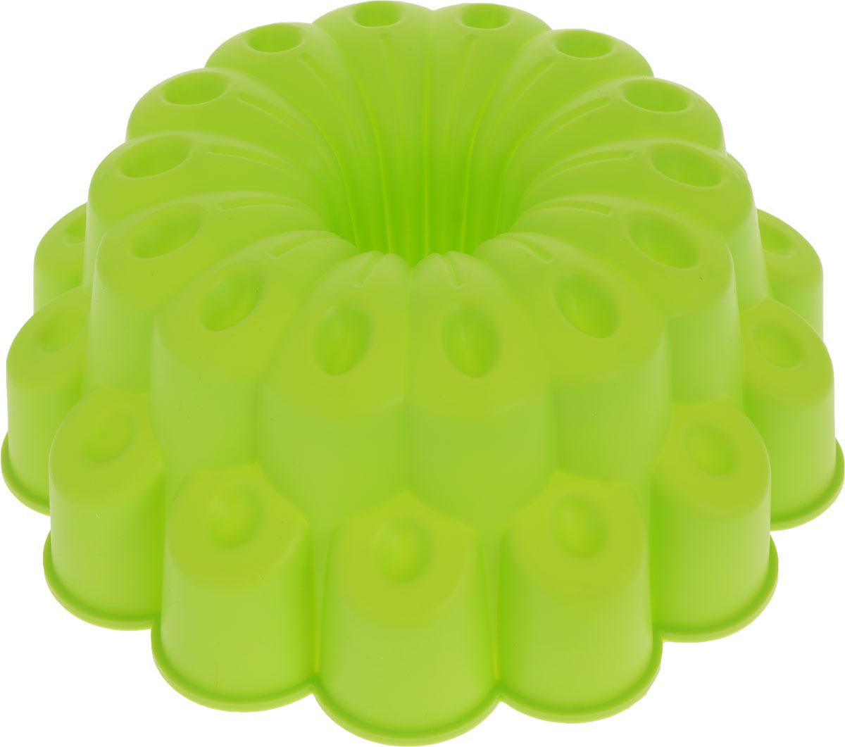 Форма для выпечки Доляна Иллюзия, цвет: салатовый, 25 х 14 см651948_салатовыйФорма для выпечки Доляна Иллюзия, цвет: салатовый, 25 х 14 см