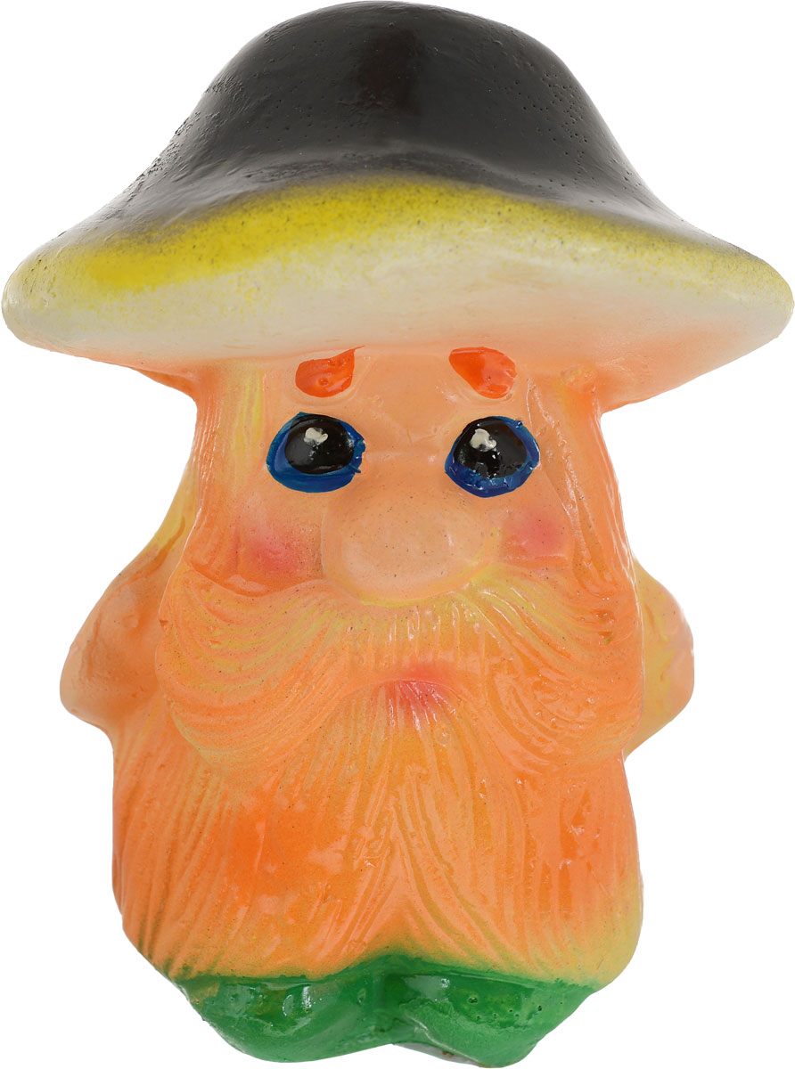 Фигура садовая Грибок-дед, цвет оранжевый, черный, 8 х 8 х 12 см1204651_шляпка чернаяОчаровательные фигурки грибов украсят сад. Расположите грибочек под деревом или в траве и приятно удивите прогуливающихся в саду гостей.Симпатичная фигурка станет прекрасным подарком заядлому садоводу. Такой декор будет гармонично смотреться в огородах и на участках собилием зелени. Дополните пространство сада интересной деталью.
