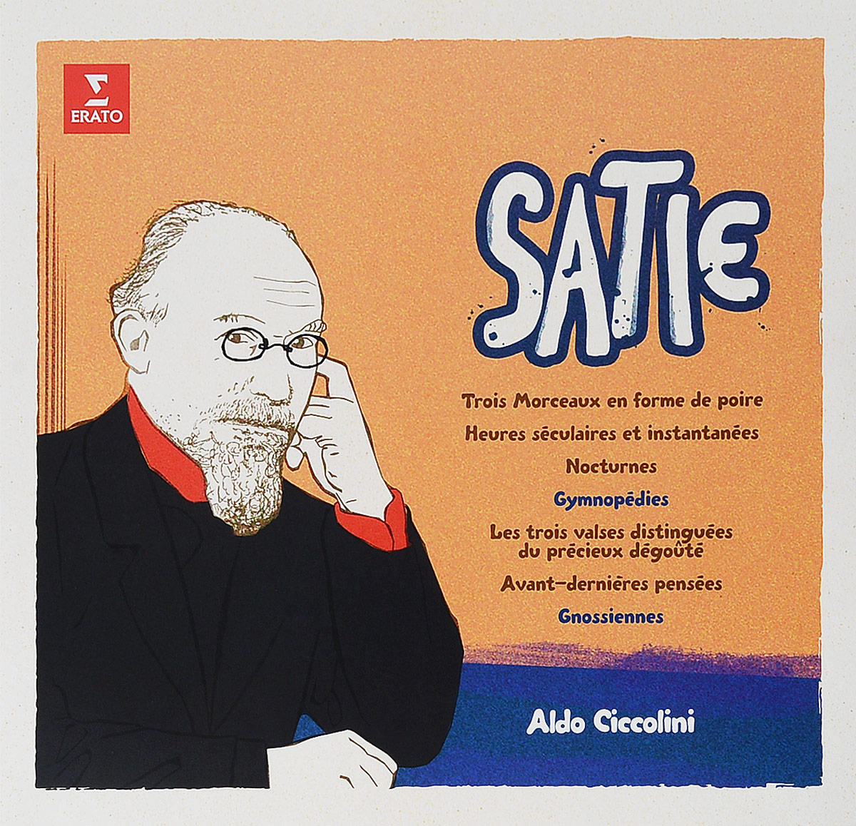 Aldo Ciccolini. Satie: Gymnopedies, Gnossiennes And Etc. (LP)