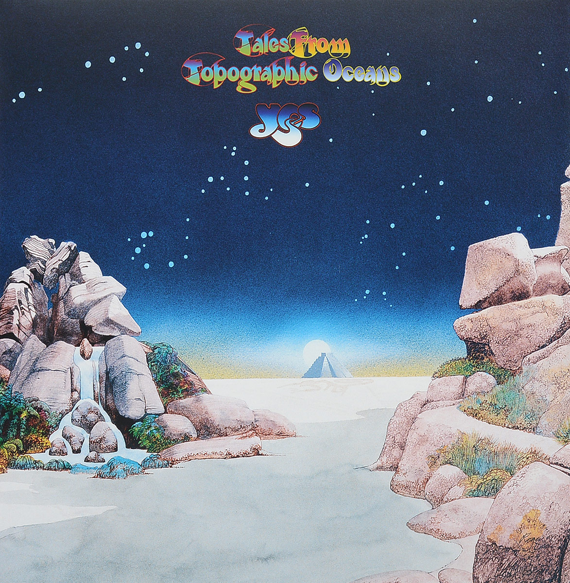Yes Yes. Tales From Topographic Oceans (2 LP) yes yes close to the edge lp