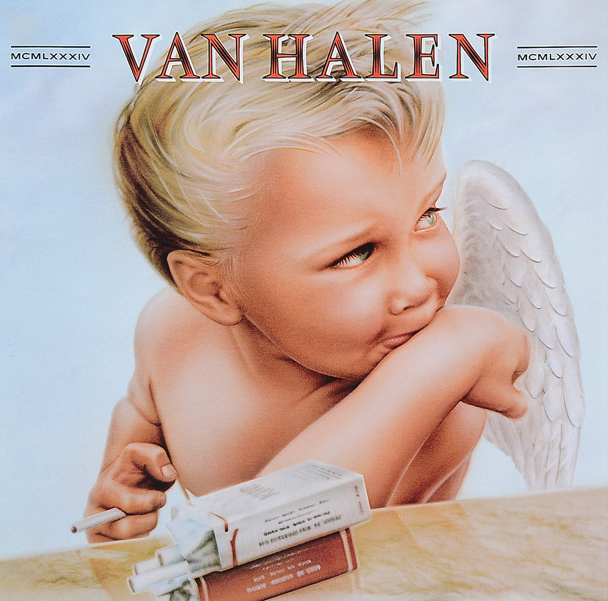 Van Halen Van Halen. 1984 (LP) newest track train brick building block set educational diy construction toys for children enlighten bricks compatible with lego