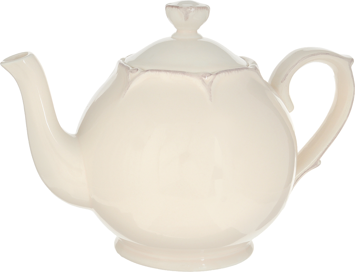 """Чайник заварочный Lillo """"Ideal"""" изготовлен из высококачественной керамики.  Чайник станет отличным дополнением к вашему кухонному инвентарю, а также  украсит сервировку стола и подчеркнет прекрасный вкус хозяина.         Можно использовать в посудомоечной машине и микроволновой печи.       Диаметр чайника (по верхнему краю): 6,5 см.   Диаметр основания чайника: 8,5 см.   Высота чайника (без учета крышки и ручки): 12,5 см.   Объем чайника: 1 л."""