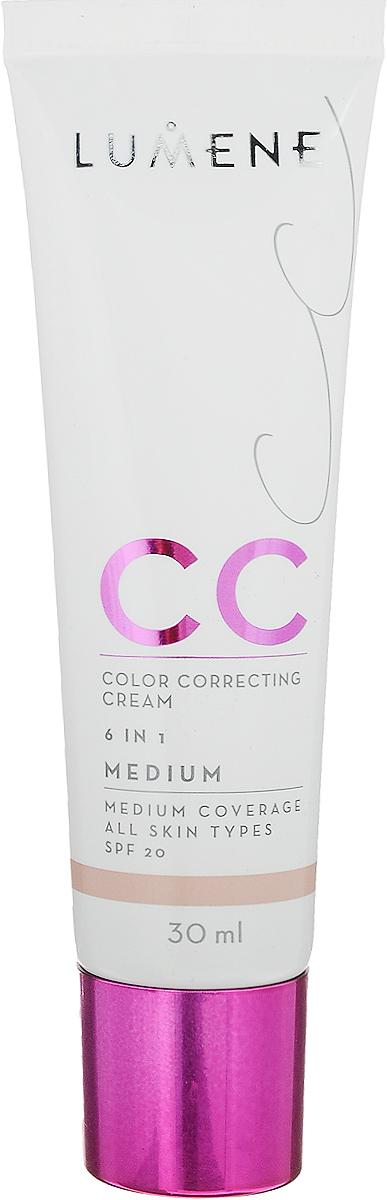 Lumene Тональное средство CC-крем SPF 20 Средний, 30 мл549868Невесомое, но при этом стойкое тонирующее средство CC-крем Абсолютное совершенство для безупречного покрытия. Подстраивается под естественный оттенок кожи. Может использоваться самостоятельно или как база под макияж. Обеспечивает уход за кожей и защиту. Подходит для всех типов кожи. Оттенок Средний. Уважаемые клиенты! Обращаем ваше внимание на возможные изменения в дизайне упаковки. Качественные характеристики товара остаются неизменными. Поставка осуществляется в зависимости от наличия на складе.