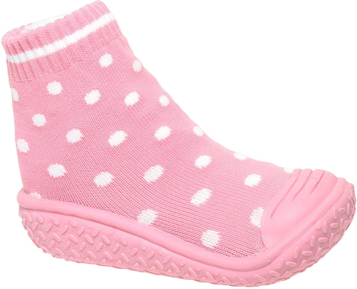 Пинетки детские Сказка, цвет: темно-розовый. R835512. Размер 23R835512Детские пинетки Сказка с прорезиненной подошвой идеально подойдут для маленьких ножек вашего малыша. Изделие изготовлено из высококачественного текстиля, отлично удерживает тепло и пропускает воздух, обеспечивая комфорт. Крошечным ножкам очень понравятся эти пинетки! Мягкая стелька приятна для тела, а резинка удержит пинетки на ножке и гарантирует оптимальную посадку. Широкий подносок обеспечивает свободное движение пальцев. Эти пинетки очень легко надеваются!Такие пинетки - отличное решение для малышей и их родителей!
